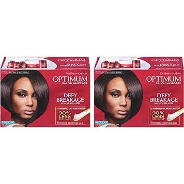 SoftSheen-Carson Optimum Salon Hair Care Defy Breakage No-Lye Relaxer, Regular Strength for Normal Hair Textures…