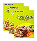 WRAPOK Bolsas Para Horno Bolsas Pollos Cocina La Carne De Turquía Carne Aves Corral Pescado Vegetal De Mariscos - 24 Bolsas (10 x 15 Pulgadas)