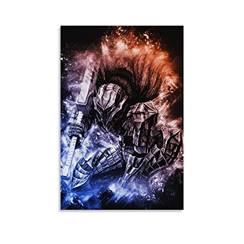 ZHIJIN Berserk Anime Poster Poster Decorative Painting Canvas Wall Art Living Room Posters Bedroom Painting 24x36inch(60x90cm)