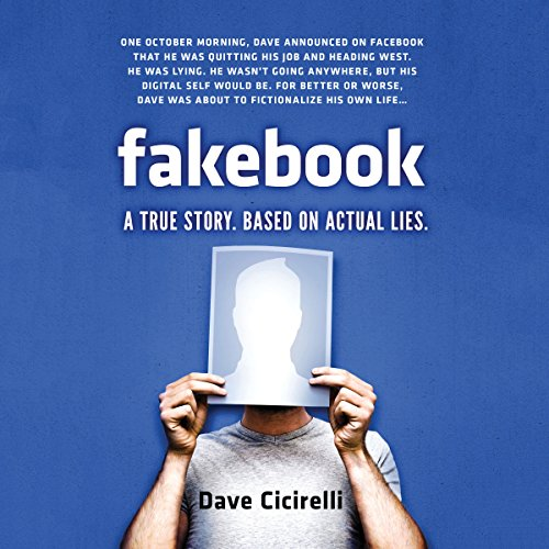 Fakebook audiobook cover art
