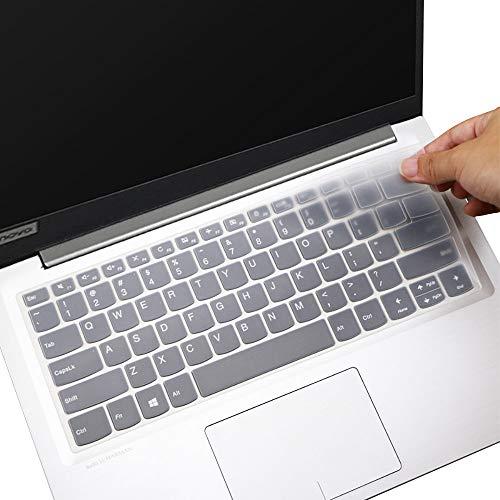 Keyboard Skin Cover for Lenovo Yoga C940 14, Lenovo Yoga C740 14 Laptop Keyboard Cover, ThinkBook 14s & 13s Laptop Keyboard Cover Protector, Clear (NOT for 15.6' Lenovo Yoga C740 C940)