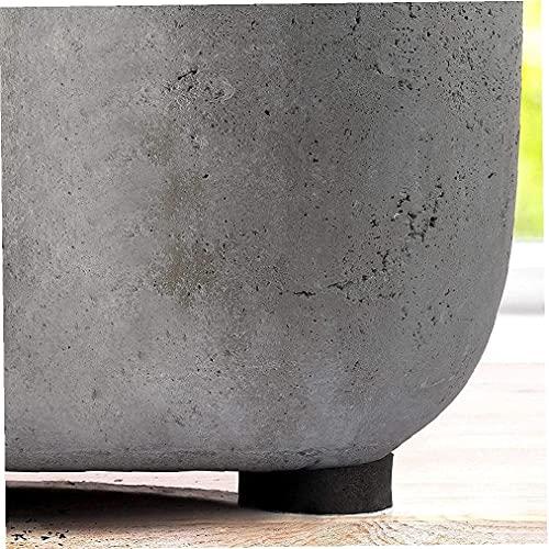 Chyang 4. 8pcs. Piedi del Vaso della pianta, Eva. Riser Invisibili Riser Pad Gardening Pot Pied Feet Contenitori Accessori for Piante da Esterno Indoor (Color : 5 * 1.5cm)