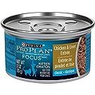 Pro Plan Wet Kitten Food, Development, Chicken & Liver Entrée 85g (24 cans)