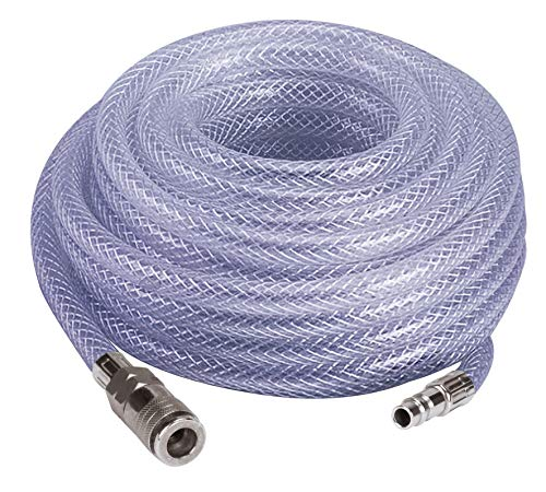 Einhell hogedrukslang, 15 meter (maximale druk 10 bar, leidingdiameter 10 mm, met snelkoppeling en schroefdraadopzet)