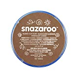 Snazaroo- Pintura facial y Corporal, 18 ml, Color marrón beige, M-L (Colart 18911)