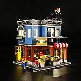 Kit di Illuminazione A LED per Lego Creator La Drogheria,Compatibile con Il Modello Lego 31050 Mattoncini da Costruzioni - Non Incluso nel Modello