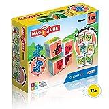Geomag- Magicube Juguete de construcción, Multicolor, 4 Piezas (603) , color/modelo surtido