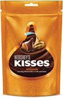 Hershey's Kisses Almond, 100g (Pack of 3)