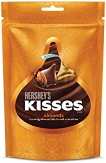 Hershey's Kisses Milk Chocolate - Almonds, 33.6g