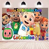 ココメロン家族写真の背景の装飾の背景の写真の背景の子供の写真の背景の子供の誕生日の写真のブースの小道具の新生児の写真撮影の結婚式の祭りのテーマ