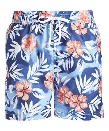 Kanu Surf Men's Havana Swim Trunks (Regular & Extended Sizes), Vacay Blue, Small