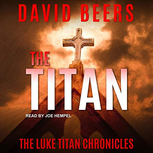 The Titan audiobook cover art