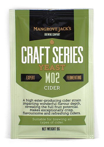 Mangrove Jack's Cider M02 Dried Yeast