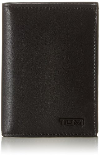 TUMI - Delta L-Fold Wallet with RFID ID Lock for Men - Black