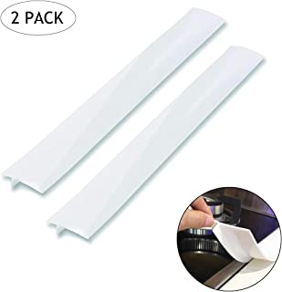 Silicone Gap Cover, (2 Pack) Silicone Gap Stopper Kitchen Stove Counter Gap Covers..