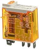 Finder 466180120040 - Relé a spina 1RT 16 A 12 Vac con pulsante per prova manuale/indicat...