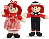 Raggedy Ann & Andy Count Your Blessings Dolls by Aurora