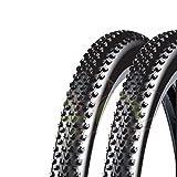 Ecovelò 2 COPERTONI DSI 27.5 X 2.10 (54-584) per MTB Bici Bicicletta Nero Mountain Bike