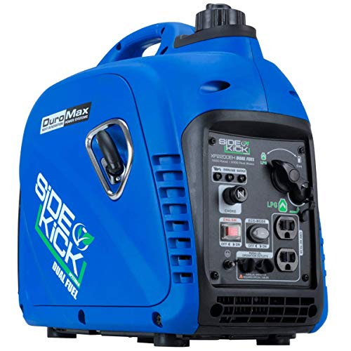 DuroMax XP2200EH Dual Fuel Portable Inverter...