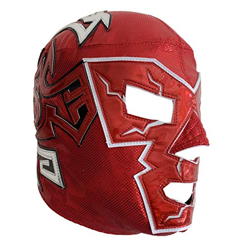 Dr. Wagner Semi Professional Lucha Libre Luchador Wrestling Mask One Size Red Premium Quality