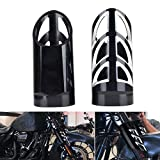 Goldfire Motorcycle Fork Slider Covers CNC Upper Boot Shock Absorbers for Harley 1997-2017 Touring All Models