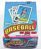 1989 Topps Baseball Cards Box (36 packs)