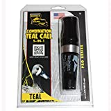 Haydel's Game Calls Inc. T2 - Combo Teal Duck Call for Hunting. 5 in 1 Combination Caller
