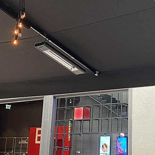 veito Aero S Elektro-Infrarot-Heizstrahler | Karbon Carbon | Terrassenstrahler | Bild 5*
