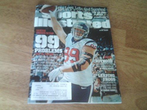 Sports Illustrated–November 17, 2014–j.j. Watt on cover–Texas three-step, 99problemi