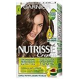 Garnier Tinta Capelli Nutrisse, Colorazione Permanente Nutritiva, Castano Cacao