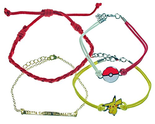 Pokemon Pikachu Arm Party Bracelet Set