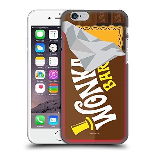 Head Case Designs Licenza Ufficiale Willy Wonka And The Chocolate Factory Bar di Dolci Grafiche Cover Dura per Parte Posteriore Compatibile con Apple iPhone 6 / iPhone 6s