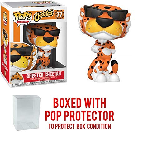 Pop Ad Icons: Cheetos Chester Cheetah Pop Vinyl Figure (Includes Compatible Pop Box Protector Case)