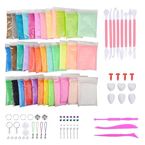 Abree 36 Colores Slime Kit - DIY Arcilla Colorida de Caucho