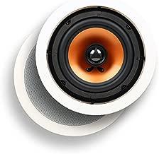 Micca M-6C 6 Inch 2-Way In-Ceiling In-Wall Speaker (Renewed)