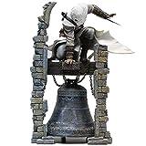 midday Assassin'S Creed Doll-Altair: la Figura de acción Original de Figma del Legendario Assassin Altair Clock Tower (tamaño: 28 cm)