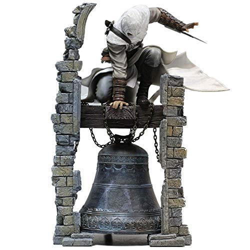 erfgh Assassin's Creed Doll-Altair: L'Originale Action Figure Figma della Leggendaria Assassin Altair Clock Tower (Dimensioni: 28 cm) Vivid And Lifelike