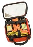 kwb Spanngurt-Set 9-teilig zur Ladungssicherung – inkl. 2 Zurrgurte, 2 Ratschen-Spanngurte mit Haken, 2 Gepäck-Spanner aus Gummi, 1 Warnflagge