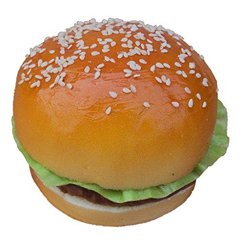 Jouet d'Imitation Hamburger/Pain Artificielle Cuisine Réaliste Enfant Cadeau Décoration - Hamburger A
