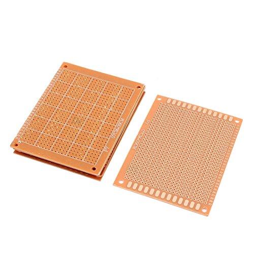 Aexit 6 pezzi 9 x 7cm Prototipazione a saldare PCB per DIY Breadboard Breadboard ID: 375170