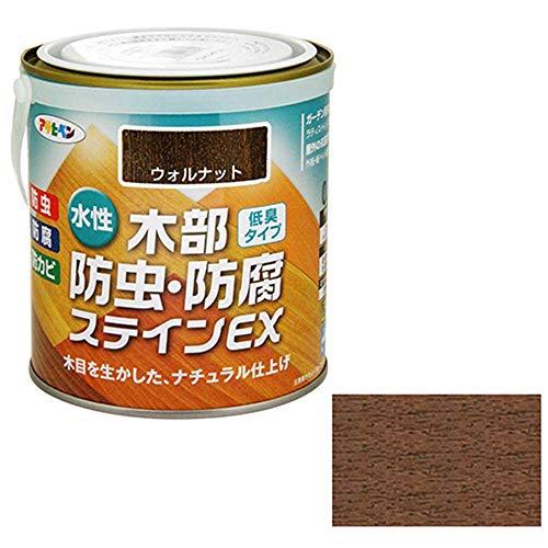 アサヒペン水性木部防虫・防腐ステインEX0.7Lウォルナット