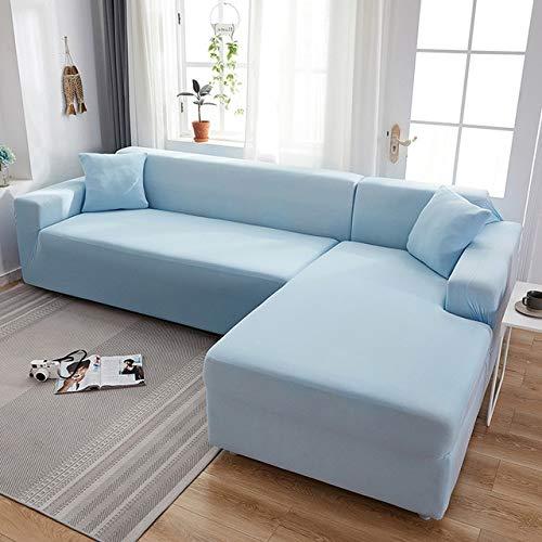 Tobs Grey Plain Color Elastic Stretch Sofabezug Bestellen SieSofabezüge Sofas ChaiseCase for Sofa