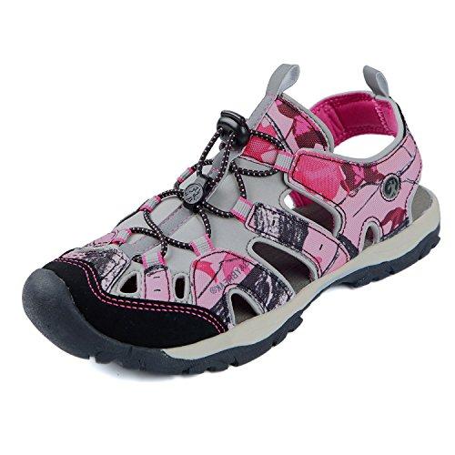 Northside Women's Burke II-W Sport Sandal, Pink Camo, 7 M US