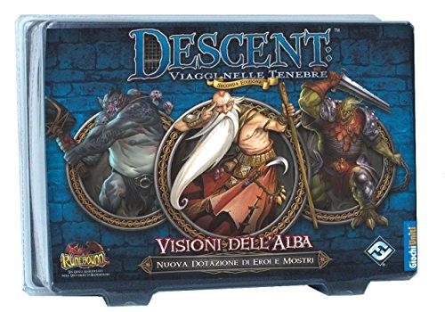 Giochi Uniti - Descent zweite Ausgabe: Visionen des Alba Runebound Brettspiel, Mehrfarbig, GU408