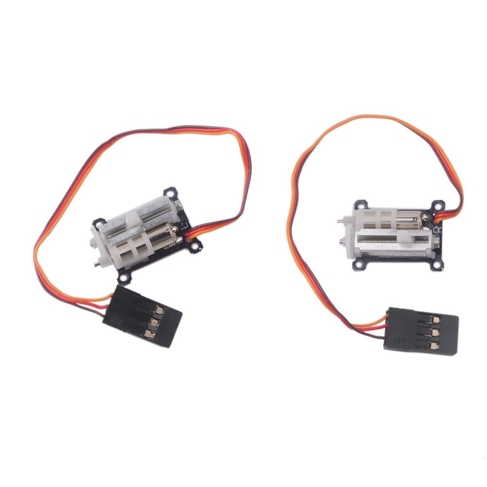 1 Pair Digital Ultra Micro 1.5g Linear Servo Tiny for Aircra