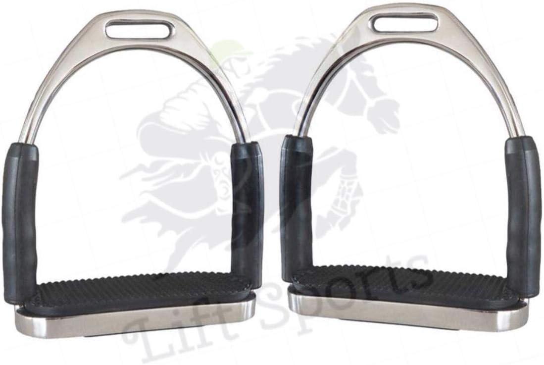 Lift Sports Horse English Safety Irons Austin Mall Flexible Bendy Stirrups S List price