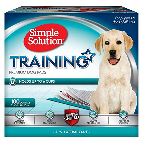 simple solution puppy training pads 100 count