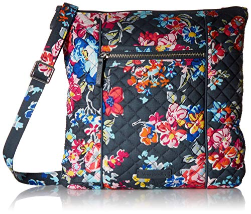 Vera Bradley Signature Cotton Hipster Crossbody Purse, Pretty Posies