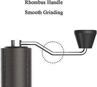 手動コーヒーグラインダー手動グラインダーが粗いおよび細かいグラインダー-Aeropress、ドリップコーヒー、エスプレッソ、フレンチプレス用のバーコーヒーグラインダー