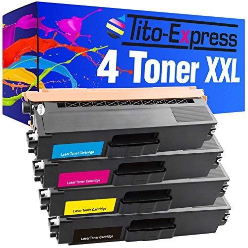 Tito-Express PlatinumSerie 4 Laser-Toner XXL kompatibel mit Brother TN-321 TN-326 | geeignet für DCP-L8400 DCP-L8450 HL-L8250 HL-L8350 MFC-L8600 MFC-L8650 MFC-L8850